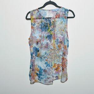 Antonio Melani Flower Dress Tank Size L